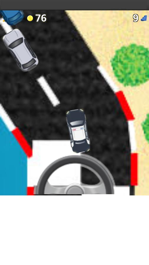 police car games for kids screenshot