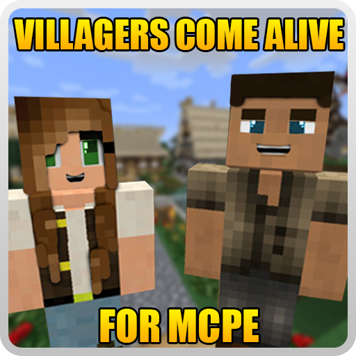 Villagers Come Alive for MCPE