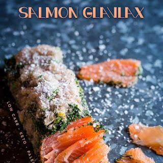 Healthy Salmon Gravlax.