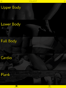 Personal fitness trainer app: Home workout video- screenshot thumbnail