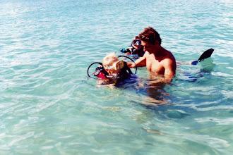 Photo: #017-Baptême de plongée pour Viviane