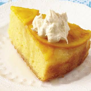 Orange Cake with Cinnamon Cream.