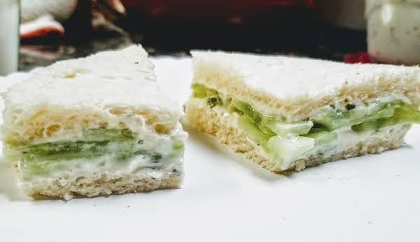 Cucumber Sandwiches With A Twist