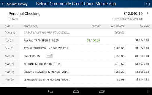 玩財經App|Reliant Community Credit Union免費|APP試玩