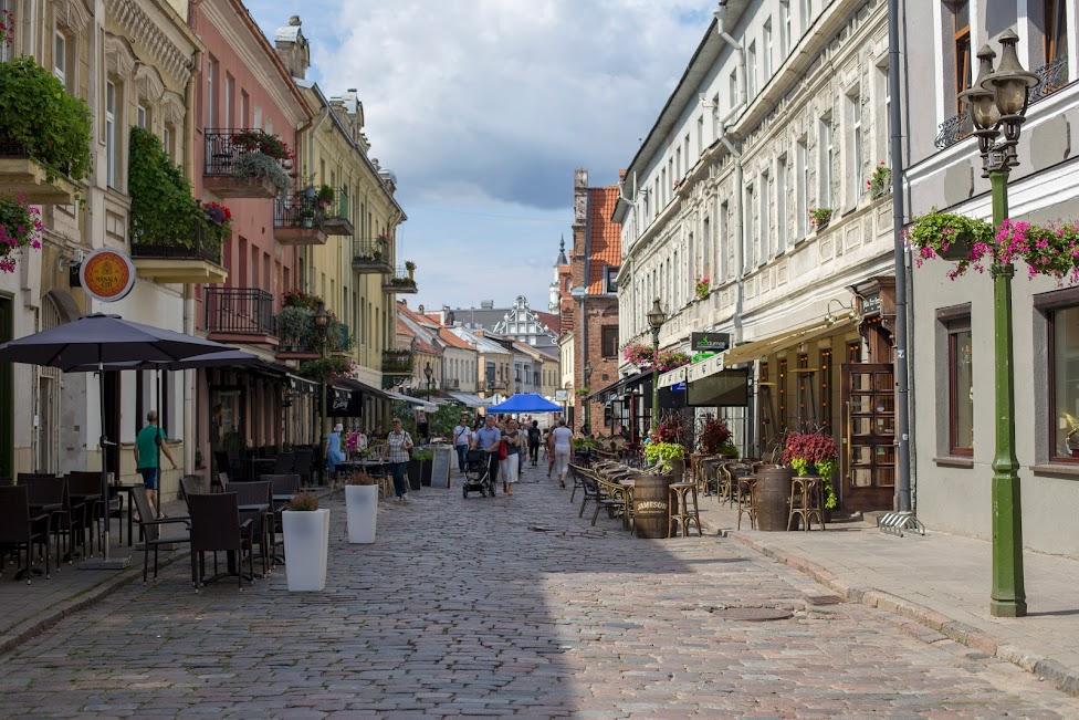 Kowno, Stare Miasto