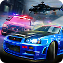 Police Car Chase - smash cars police games icon