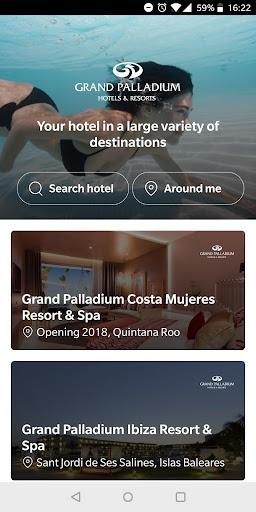 Grand Palladium Hotels & Resorts 2.0.8 screenshots 1