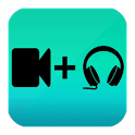 Add Any Song To Video. Video Background Music. icon
