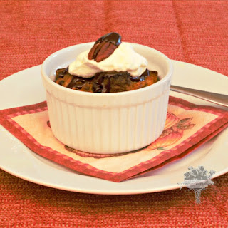 Happy Thanksgiving! Pumpkin Chocolate Bread Pudding