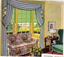 Photo: from a 1938 ad for window shades
