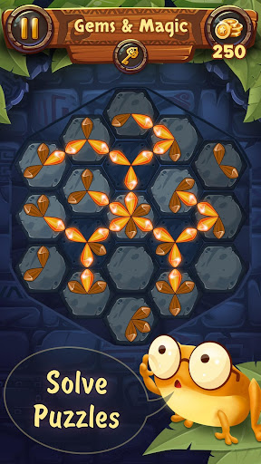 Gems & Magic adventure puzzle apktram screenshots 12