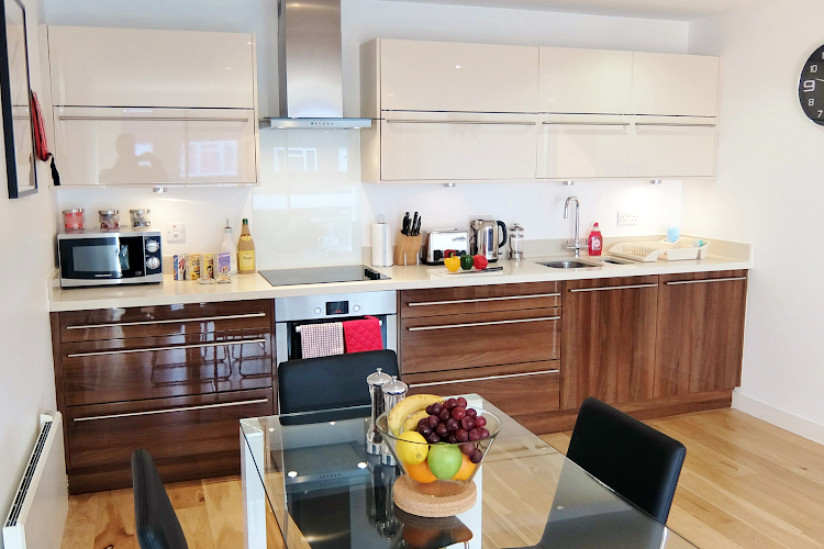 Equipped Kitchen at Ruislip Apartments