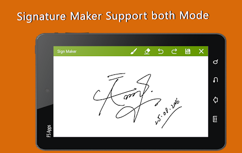 Signature Maker Real screenshot 15