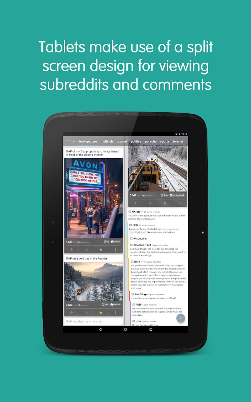 Now for Reddit Screenshot 7