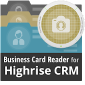 Free Business Card Reader for Highrise CRM