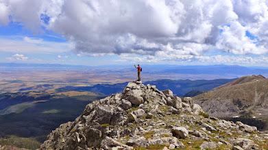 Photo: Mt. Jefferson - Looking toward Bozeman.
