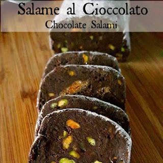 Salame al Cioccolato (Chocolate Salami).