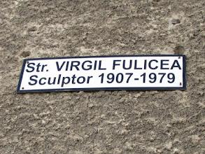 Photo: Str. Virgil Fulicea