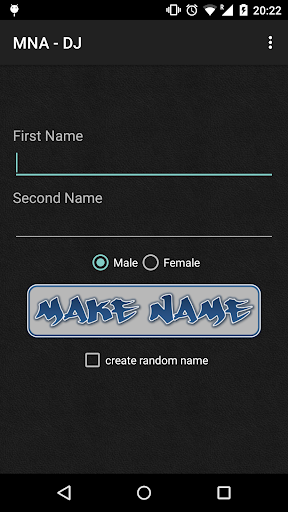 我的名字作为DJ