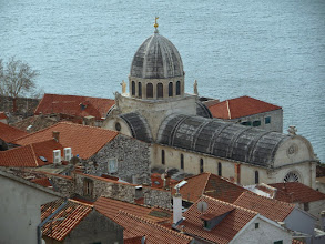 Photo: This the Cathedral of St. James looking down from St. Michael's.