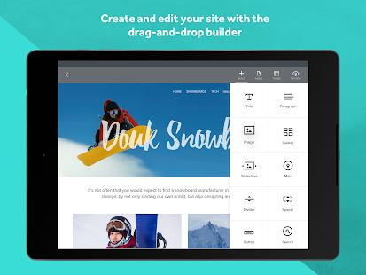 Weebly - Create a Free Website Screenshot 8