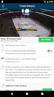 SeatHound: Ticket Search- screenshot thumbnail