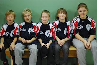Photo: Sydsvenska lag mini. Eri Järvå, Oliver Jönsson, Simon Gustafsson, Niklas Hansson och Sara Sjöberg. FOTO: Patric Fransson