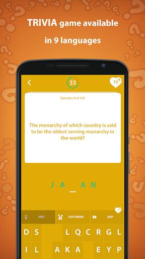 History Trivia Quiz 5.0.0 screenshots 5