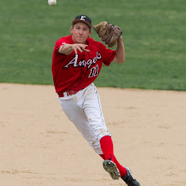 Short to First by Sean King - Sports & Fitness Baseball ( denver east high school, sean king, kingsportsphotography )