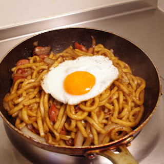 1½ Yaki Udon (midnight Snack)