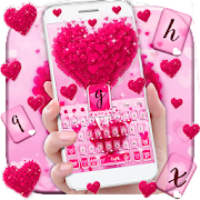 Love Heart Keyboard Theme