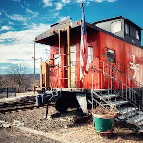 old train wagon by Aurelio Firmo - Transportation Railway Tracks ( train )