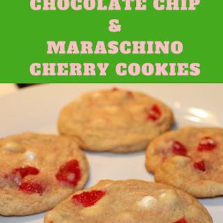 White Chocolate Chip and Maraschino Cherry Cookies Recipe
