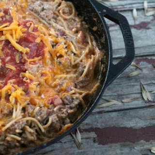 Mexican Spagetti Skillet