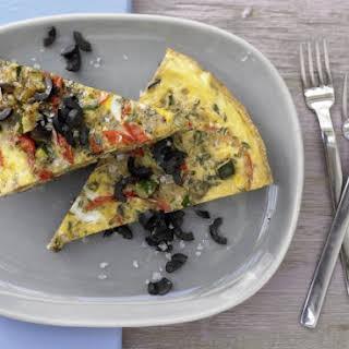 Provencal Vegetable Omelet.