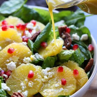 Festive Orange Spinach Salad