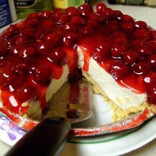 Easiest No Bake Cheesecake.