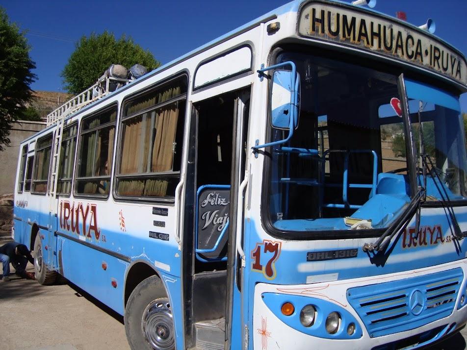 Autobus a Iruya