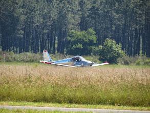 Photo: Et Thierry se pose avec son Skyleader 200