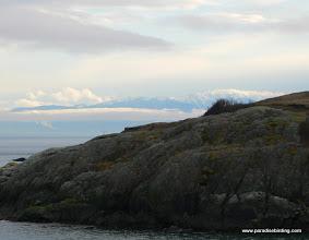 Photo: San Juan Island and Olympic Mountains, Washington