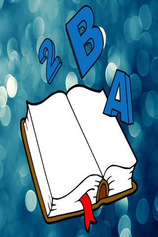 Alphabet letter for kids