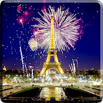 Fireworks in Paris Video LWP Icon