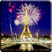 Fireworks in Paris Video LWP