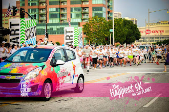 Photo: And they're off... Photo courtesy of The Color Run™