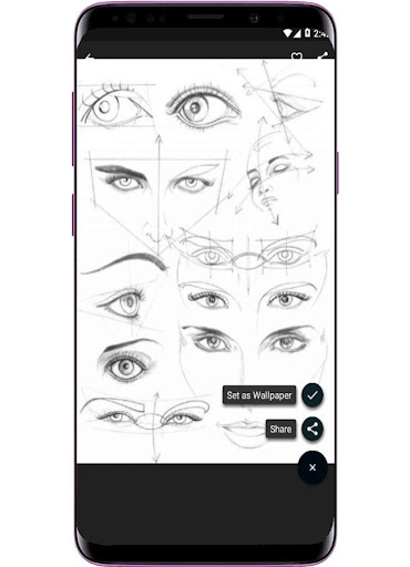 Face Drawing Step by Step 1.3.0 screenshots 4