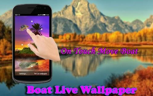 Boat Live Wallpaper - náhled