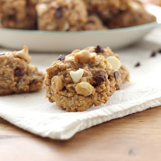 Loaded Peanut Butter Pretzel Oatmeal Cookies (100% Whole Wheat)