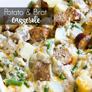 Potato and Brat Casserole
