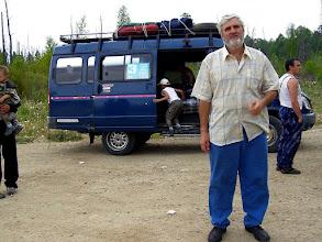 Photo: От г.Улан-Удэ едем на маршрутке до Баргузина. 13 июня 2011г.