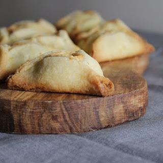 Hamantaschen Cookies with Orange Mascarpone Filling.